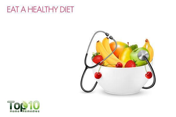 eat healthy diet for prenatal care
