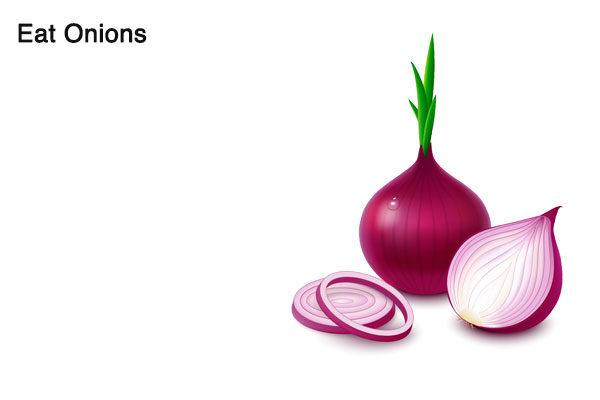 eat onion to treat onion breath