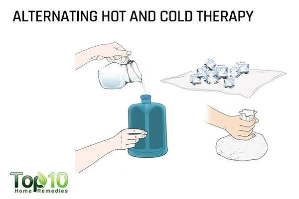 alternating hot and cold therapy for scoliosis