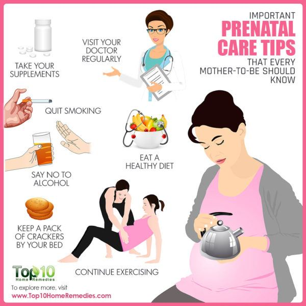 Important Prenatal Care Tips that Every Mother-to-Be ...