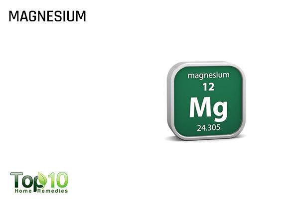 magnesium to reduce scoliosis