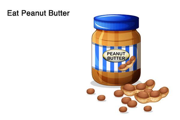 peanut butter to reduce alcohol breath