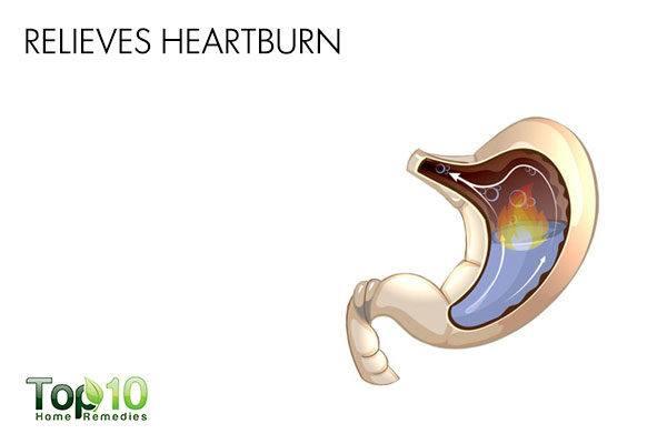 aloe vera relieves heartburn