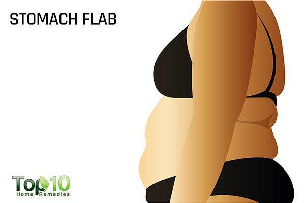 postpartum stomach flab