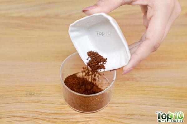 homemade coffee face scrub