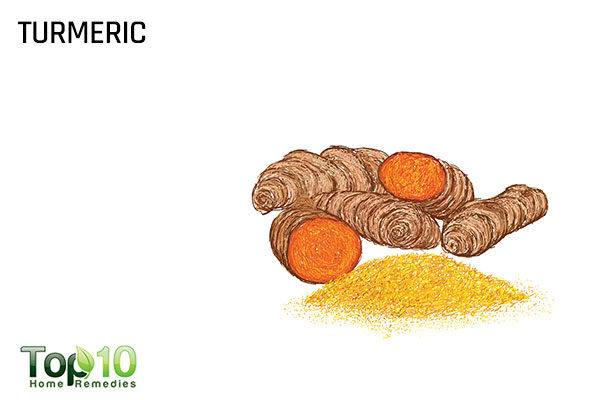 turmeric to reduce scoliosis pain
