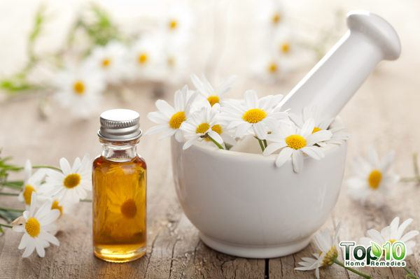 chamomile to ease back spasms