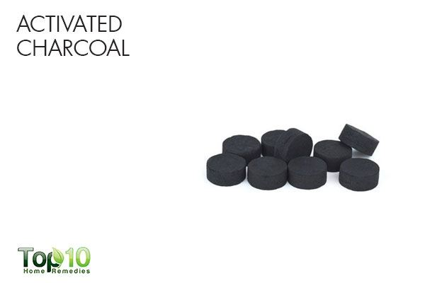 how to mix activated charcoal powder to drink