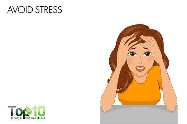avoid stress to reduce postpartum hives