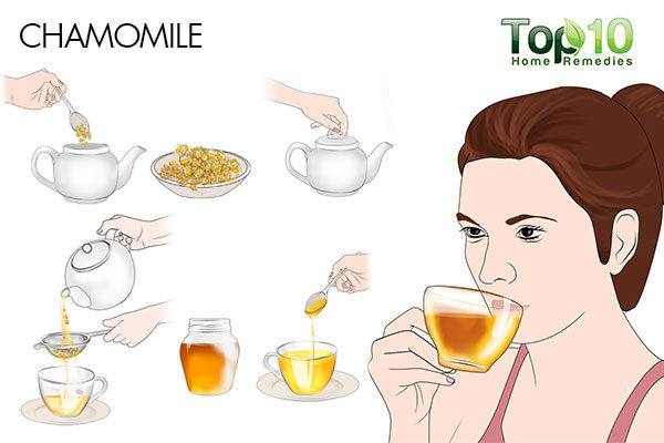 chamomile tea for pregnancy hives