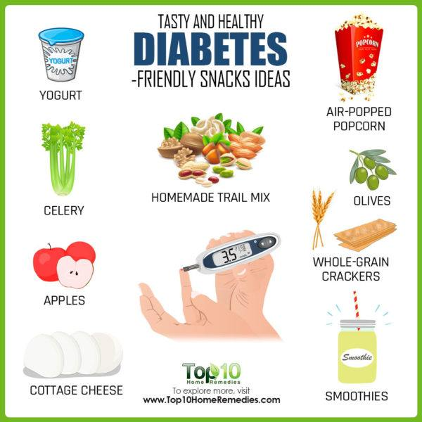 diabetes friendly snack ideas