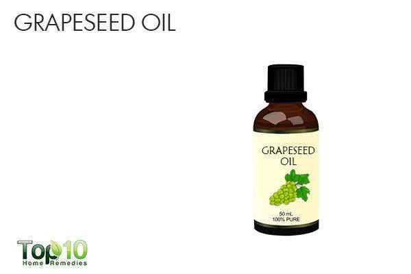 grapeseed oil to treat broken capillaries on face