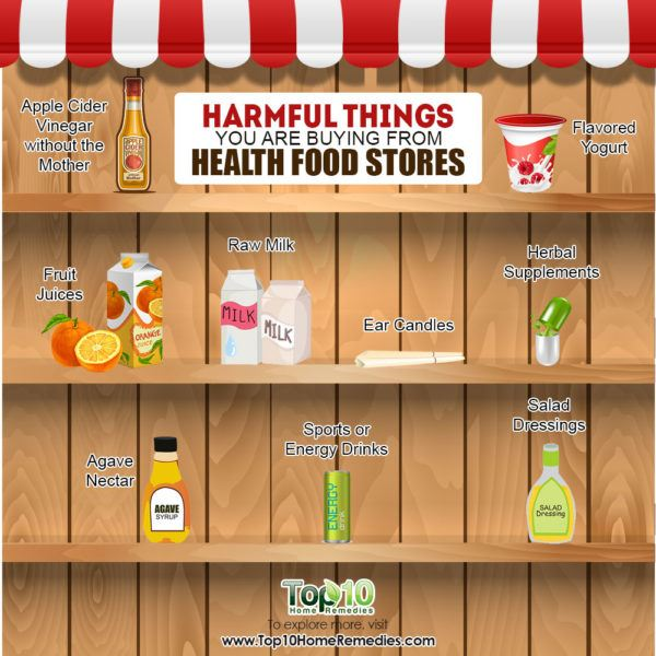 harmful things you are buying from health food stores