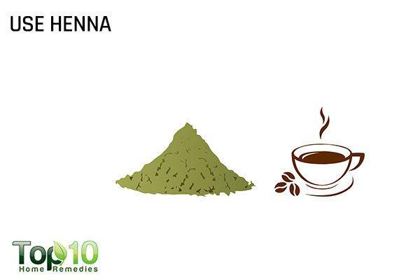 use henna to dye gray hair