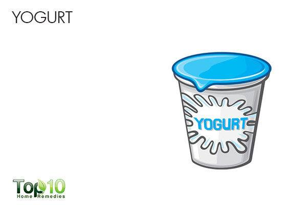 yogurt to treat sour stomach