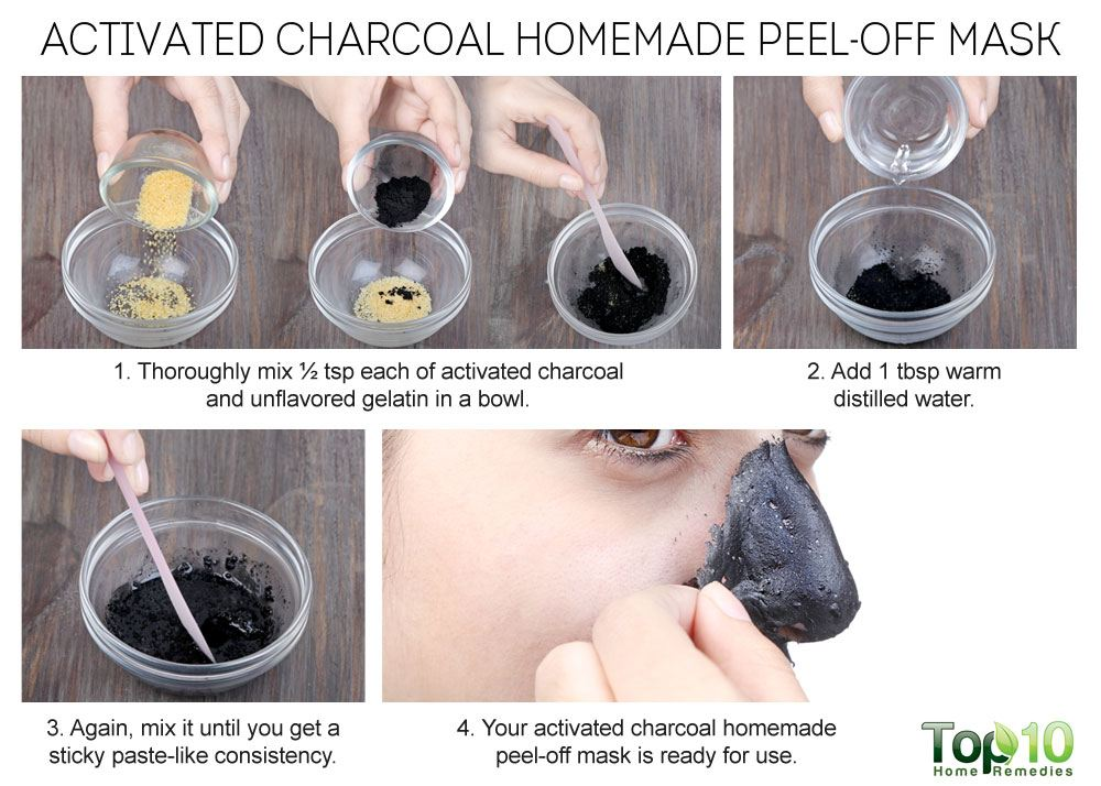 Homemade Peel-Off Masks for Glowing