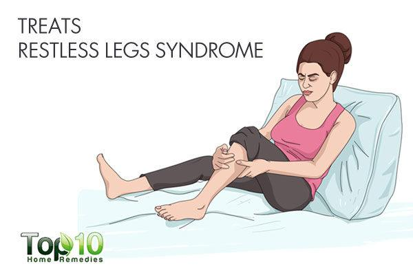 Use camphor to treat restless legs syndrome