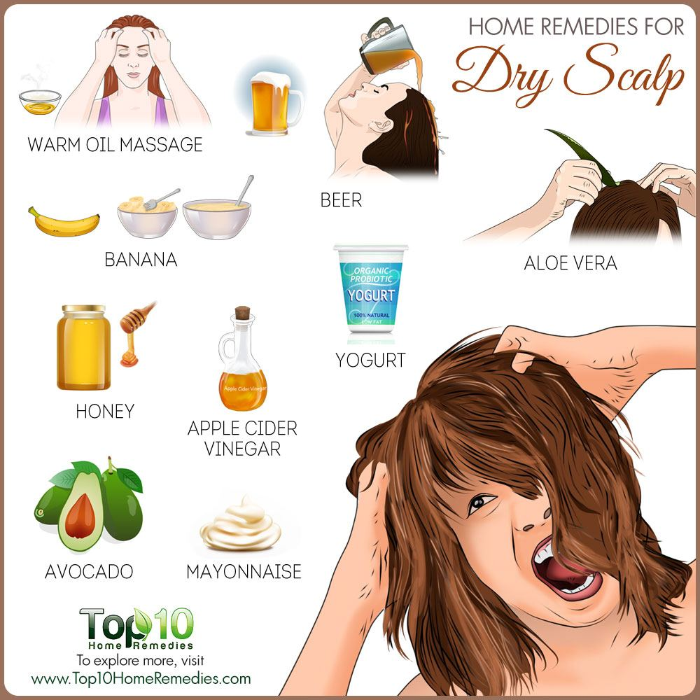 home remedies for dry scalp | top 10 home remedies