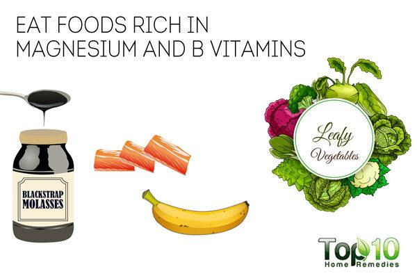 Eat magnesium-rich foods