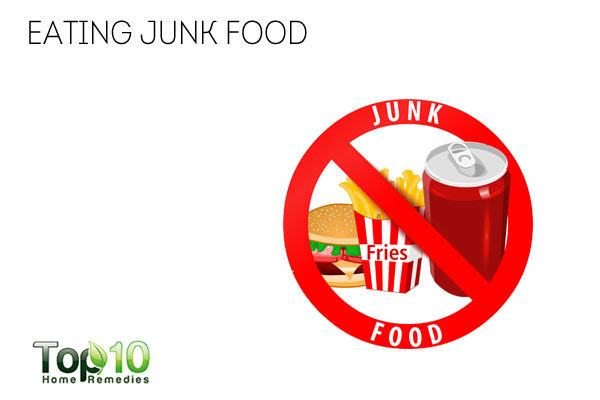 Junk food is bad for the immune system