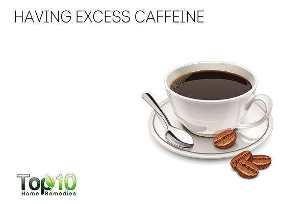 Too much caffeine reduces immunity