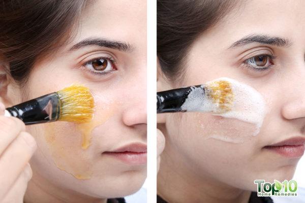 homemade peel-off masks