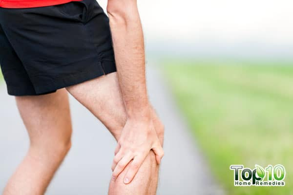 Leg cramps can cause excruciating pain