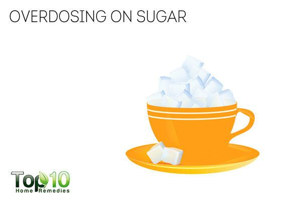 Overdosing on sugar damages the immune system