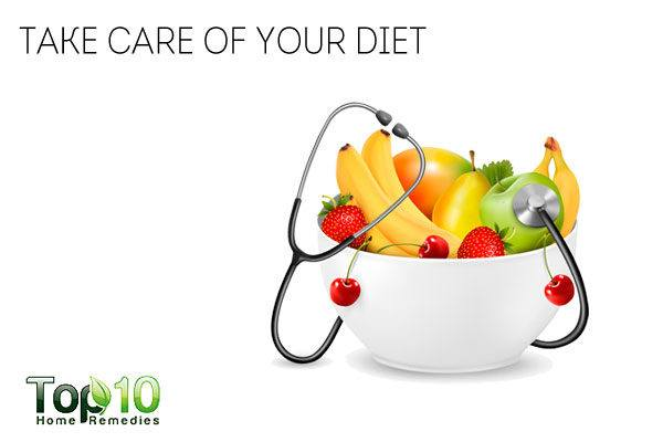 диета для профилактики перхоти