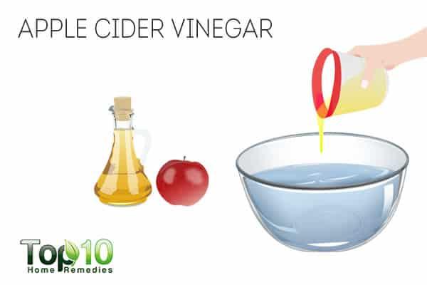 Use apple cider vinegar for nail psoriasis