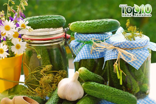 Drink pickle juice to get relief from heartburn