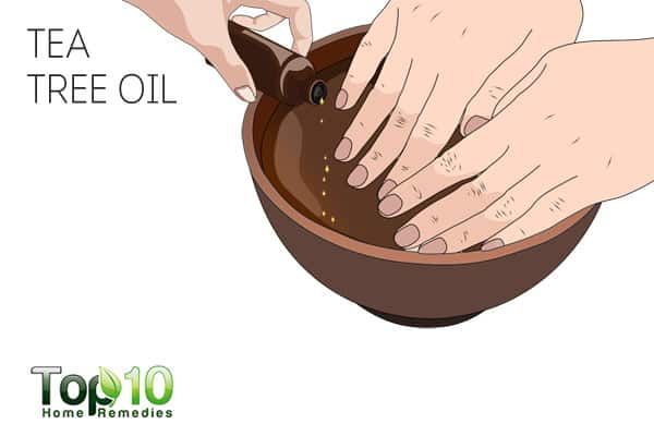 Use tea tree oil for nail psoriasis