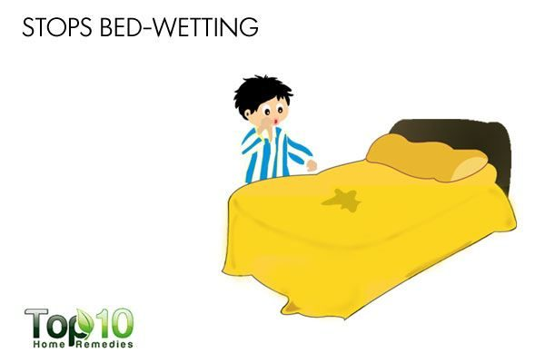 Drink yellow mustard with milk at night to stop bed-wetting