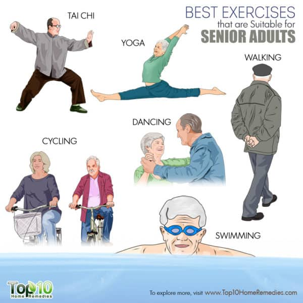 Best exercises for senior adults