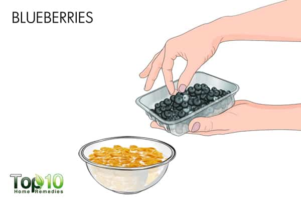blueberries to treat UTI during pregnancy