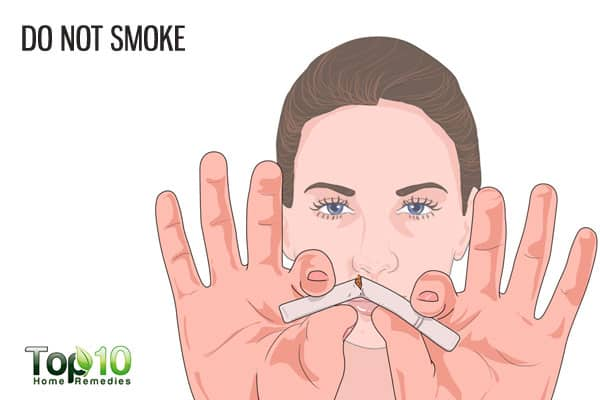 do not smoke to prevent age-related macular degeneration