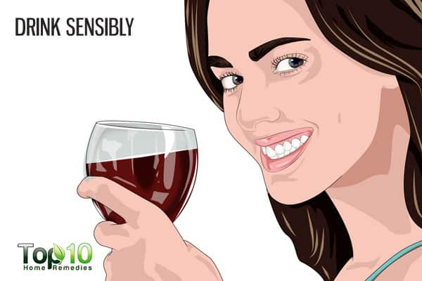 drink sensibly to prevent age-related macular degeneration