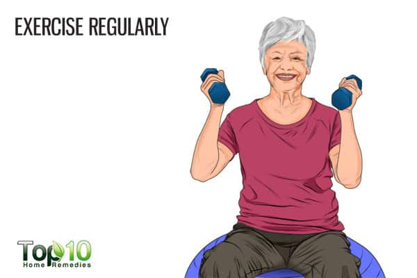 exercise regularly to prevent age-related macular degeneration