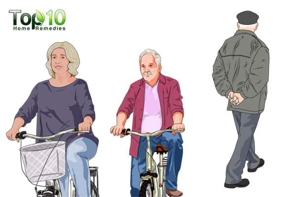 Cycling-best exercises for senior adults