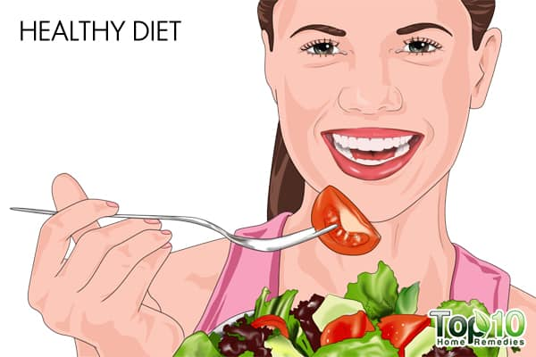 healthy diet to treat UTI during pregnancy