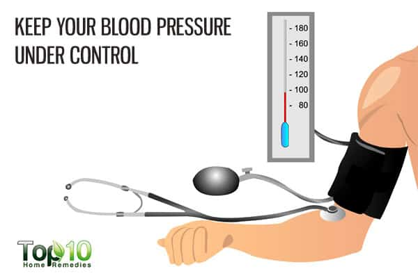 control blood pressure to prevent age-related macular degeneration