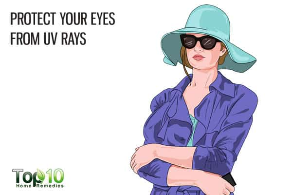 protect your eyes from UV rays to prevent age-related macular degeneration