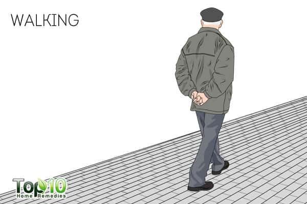 Walking-best exercises for senior adults