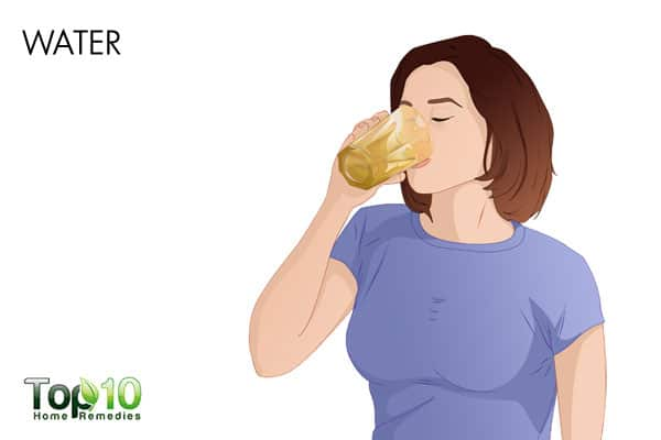 water to treat UTI during pregnancy