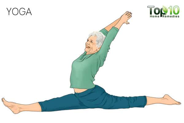 Yoga-best exercises for senior adults