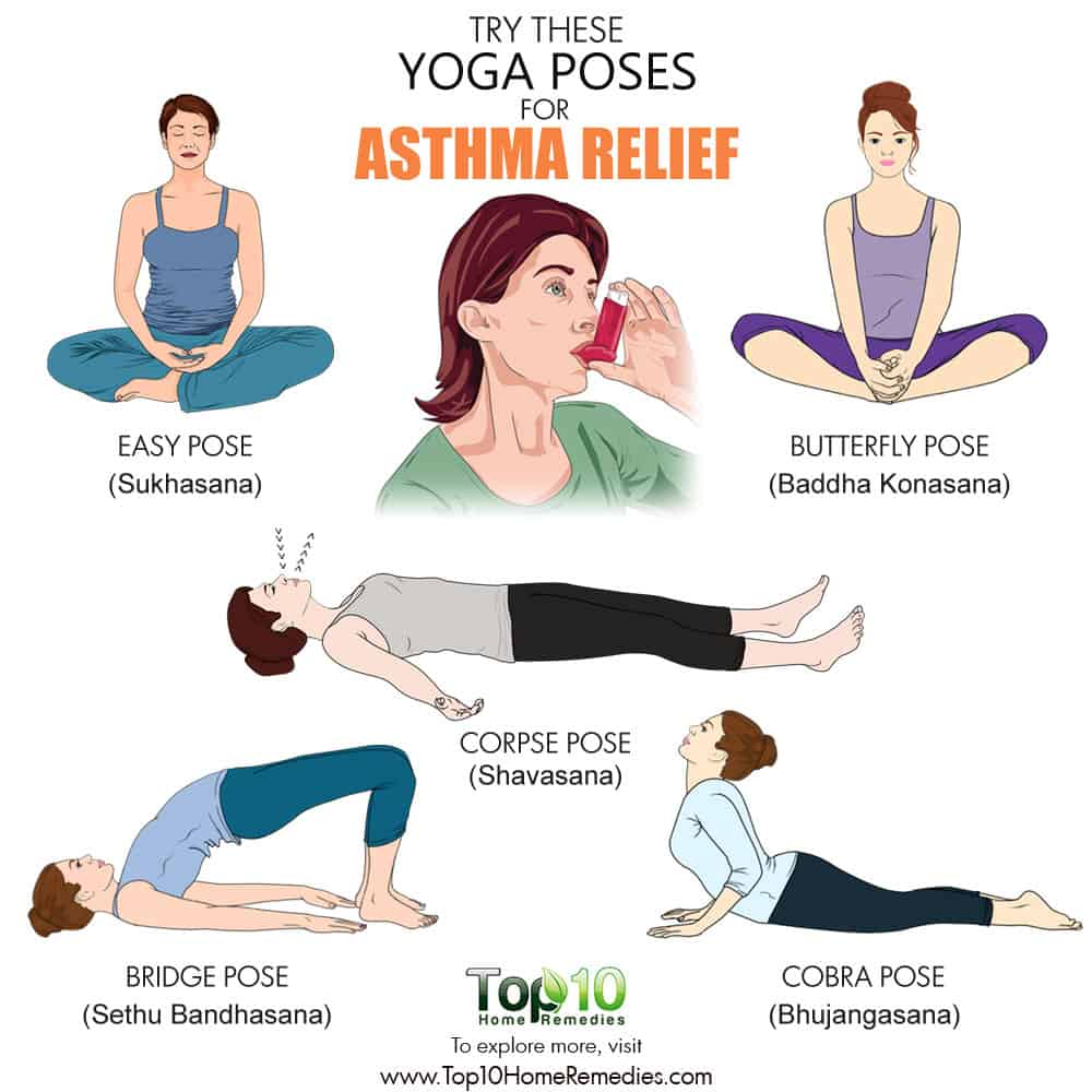 Here Are Some Of The Yoga Poses You Can Do For Asthma Relief
