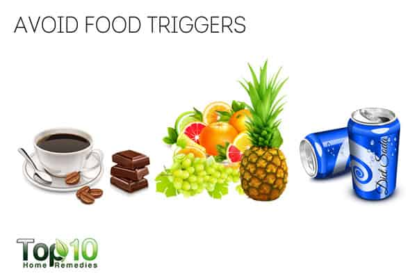 avoid food triggers for interstitial cystitis