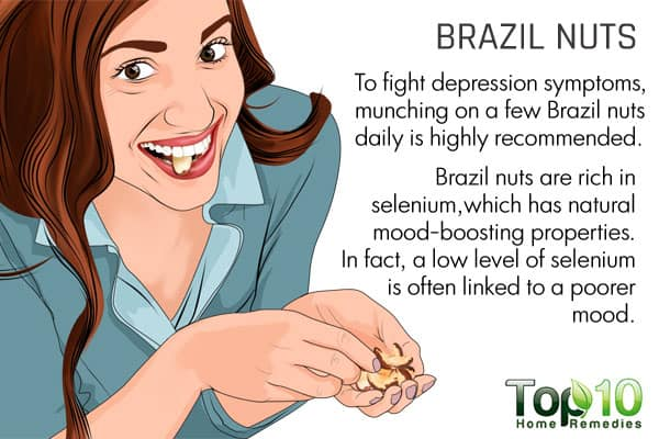 Brazil nuts to fight seasonal affective disorder