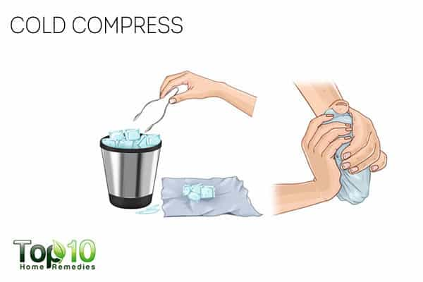 cold compress for chondromalacia patellae