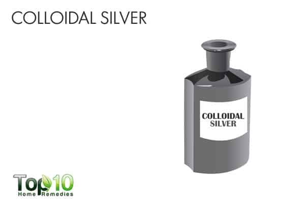 colloidal silver for ringworm of the scalp